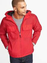 Old Navy Water-Resistant Hooded Nylon Anorak for Men