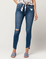 SP BLACK LABEL Angle Fray Womens High Waisted Jeans