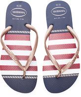 Havaianas Slim Nautical Sandal in Navy