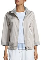 Peserico Cropped Rain Jacket