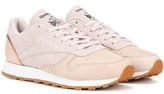Reebok Classic Diamond leather and suede sneakers