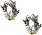 CC Skye Silver Antler Earrings