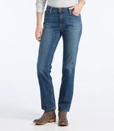 L.L. Bean Women's L.L.Bean 1912 Jeans, Favorite Fit Straight-Leg