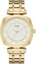Kate Spade Women's Barrow Gold-Tone Stainless Steel Bracelet Watch 34mm KSW1227
