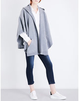 Burberry Carla logo wool & cashmere cape