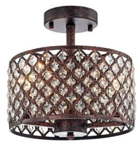 """Home Accessories Thirdy 10"""" 3-Light Indoor Pendant Lamp with Light Kit"""
