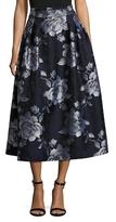 ABS by Allen Schwartz Floral Printed A Line Skirt