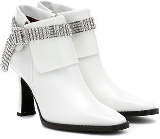 Sies Marjan Niki embellished leather ankle boots