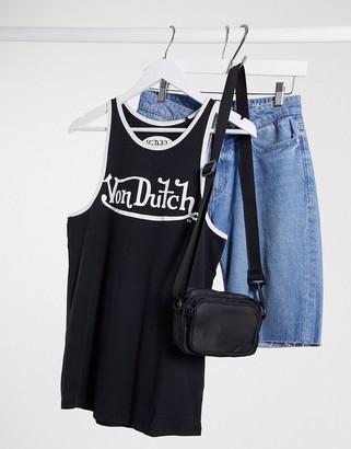Von Dutch logo vest