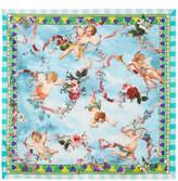 Dolce & Gabbana Printed Silk-satin Scarf
