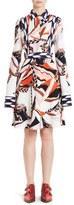 Emilio Pucci Mountain Print Stretch Cady Dress