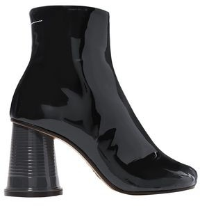 MM6 MAISON MARGIELA Cup Patent-leather Ankle Boots