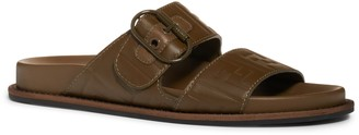 Fendi FF Buckle Slide Sandal
