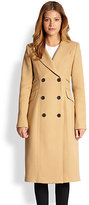 gwen stefani  Who made  Gwen Stefanis beige coat?