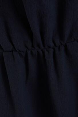 BA&SH Ulua Belted Ruched Cady Mini Dress