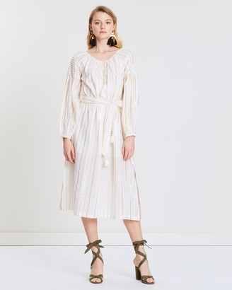 Steele Markle Smock Midi Dress