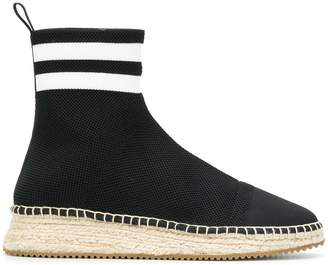 Alexander Wang high ankle sock espadrilles