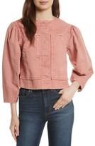 Rebecca Taylor Women's Garment Dyed Twill Jacket