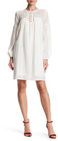 Max Studio Lace Long Sleeve Dress