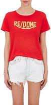 RE/DONE Women's Logo-Print Cotton T-Shirt