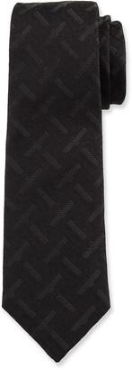 Burberry Men's TB Monogram Silk Tie