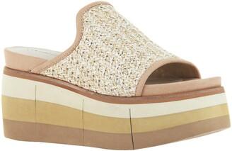 Naked Feet Flocci Platform Slide Sandal
