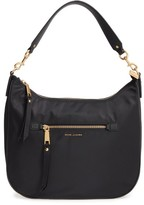 Marc Jacobs Trooper Nylon Hobo Bag - Black