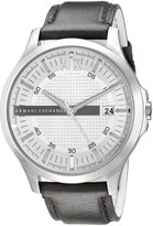 Armani Exchange A|X Men's AX2100 Analog Display Analog Quartz Brown Watch