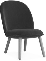 Normann Copenhagen Ace Lounge Chair Velour - Grey