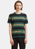 Missoni Block Striped T-Shirt in Green