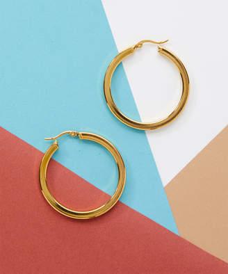 Bliss Women's Earrings Yellow - 14k Gold-Plated Hoop Earrings