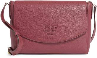 DKNY Textured Leather Crossbody Bag