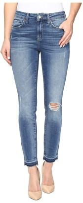 Mavi Jeans Women's Alissa Ankle Dark Indigo 90's Jean Blue 30