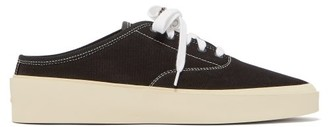 Fear Of God 101 Backless Canvas Trainers - Black