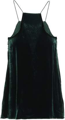 CAMI NYC The Charlie Lace-trimmed Velvet Camisole