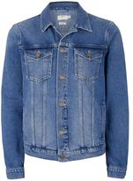 Topman Blue Denim Jacket