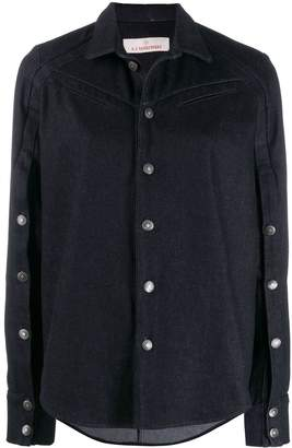 A.F.Vandevorst button-embellished shirt