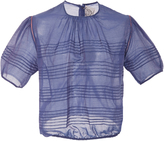 Thierry Colson Sophia Pleated Top