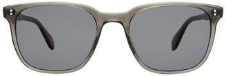Garrett Leight Emperor Sun Grey Crystal Sunglasses