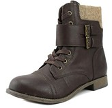 Rampage Jency Women Round Toe Synthetic Brown Ankle Boot.