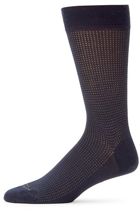 Marcoliani Milano Micro Pin Dot Crew Socks