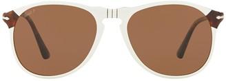 Persol 649 Series Polarised Aviator Sunglasses