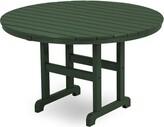 "Hunter Polywoodâ® La Casa CafA Plastic Dining Table POLYWOODA Finish Green, Table Size: 36"""
