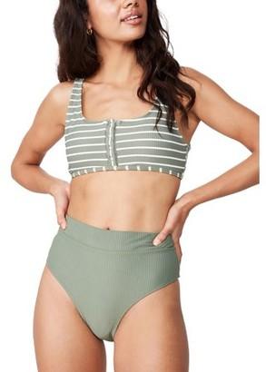Cotton On Highwaisted Banded Cheeky Bikini Bottom