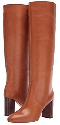 Loeffler Randall Goldy Tall Boot (Cognac Vachetta) Women's Shoes