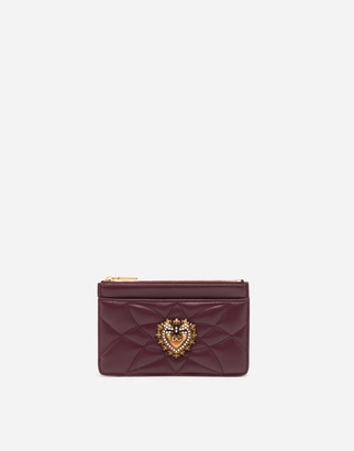 Dolce & Gabbana Devotion Card Holder With Zip