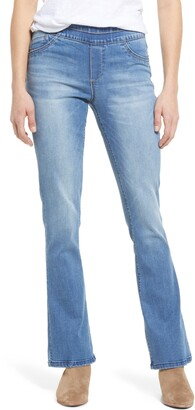 Wit & Wisdom Ab-Solution Pull-On Itty Bitty Bootcut Jeans