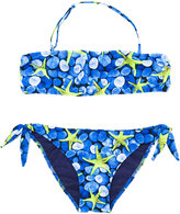 Mc2 Saint Barth Kids - teen starfish print bikini - kids - Polyamide/Spandex/Elastane - 14 yrs