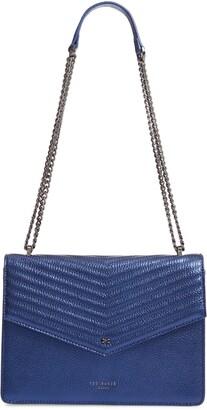 Ted Baker Kamille Metallic Leather Shoulder Bag