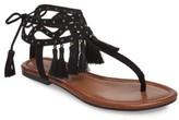 Jessica Simpson Women's Kamel Studded Tassel Sandal